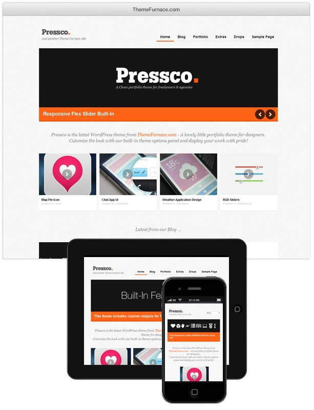 Pressco wordpress theme