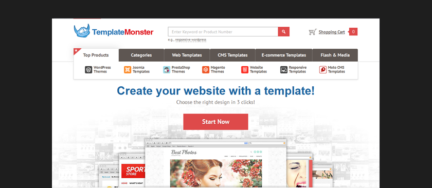 Template Monster Coupon  Coupons Design Templates