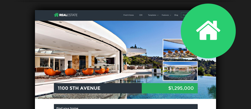 50+ Best WordPress Real Estate Themes 2017