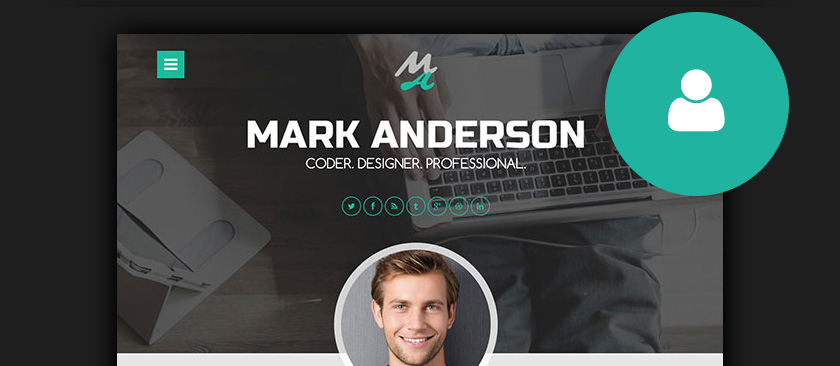 resume wordpress themes - Wordpress Resume Template