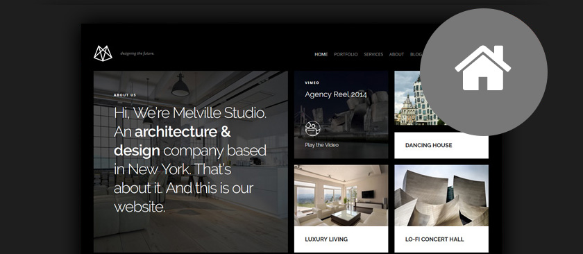 50+ Best Architect WordPress Themes 2017