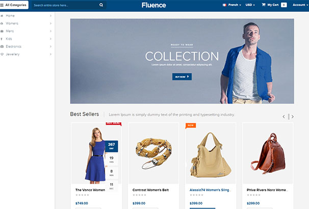 Fluence Home Page