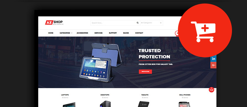 60+ Best Responsive Magento Themes 2017