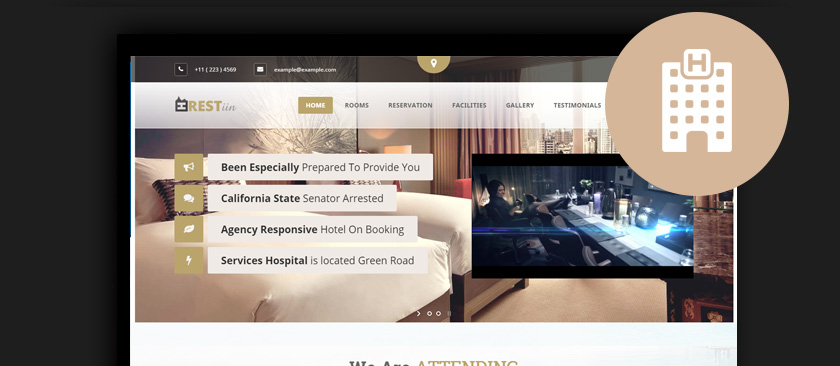50+ Best WordPress Hotel Themes 2017 :: Themes for Hotels