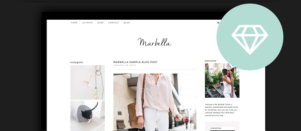 35 Best Beauty Fashion Sample Lifestyle Blog WordPress Themes 2017