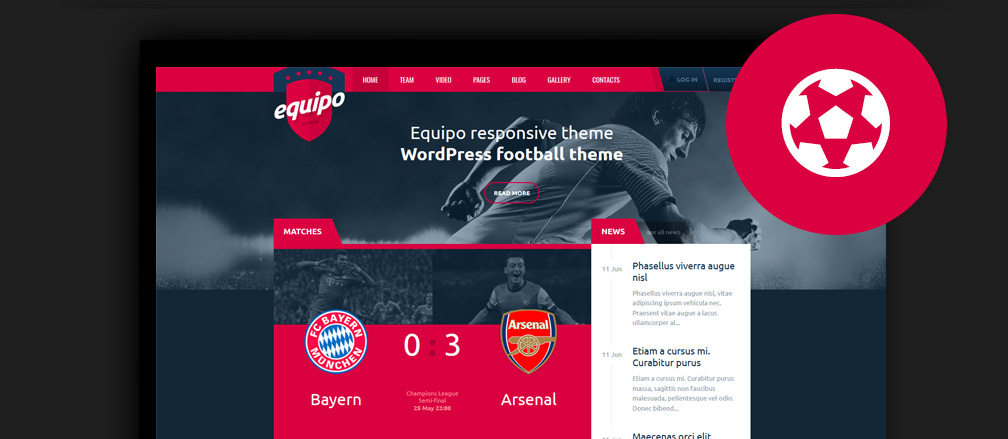 50+ Best WordPress Sports Themes 2017