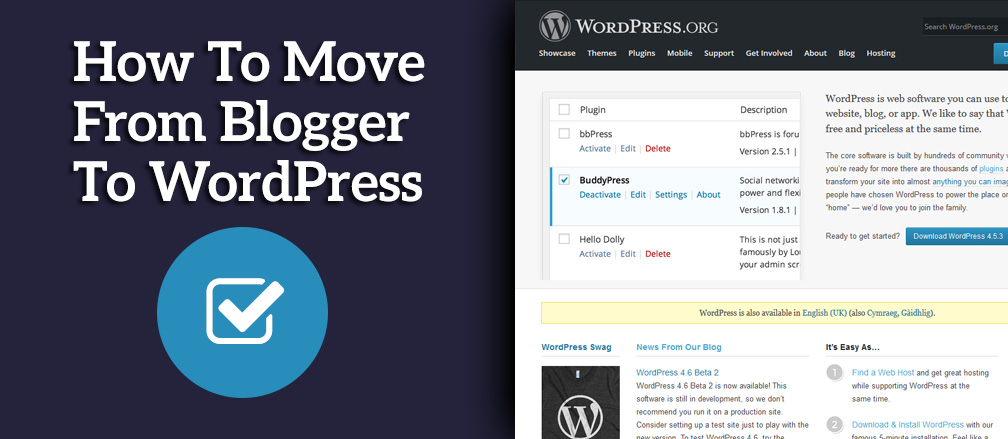 how to move from blogger to wordpress complete beginners guide rh themefurnace com Princeton University Dashboard WordPress