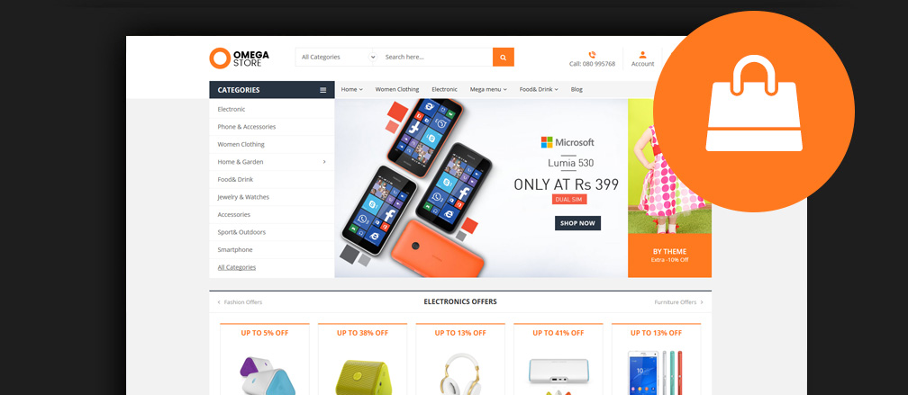 50+ Best WooCommerce WordPress Themes 2017