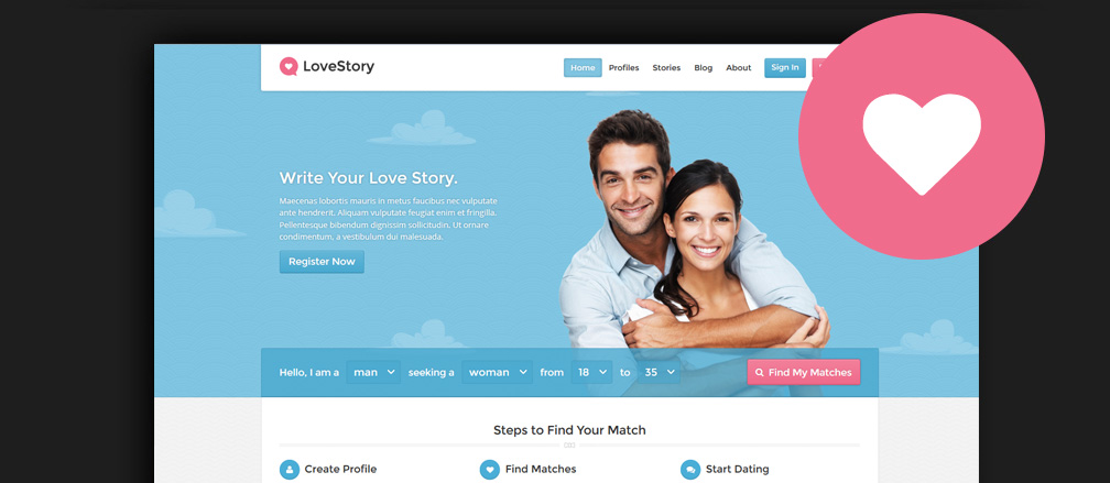 Buddypress dating theme