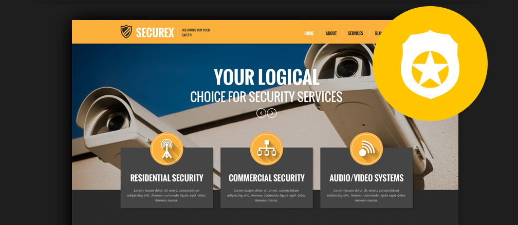 Best WordPress Security Themes 2017 Themes for Security Companies