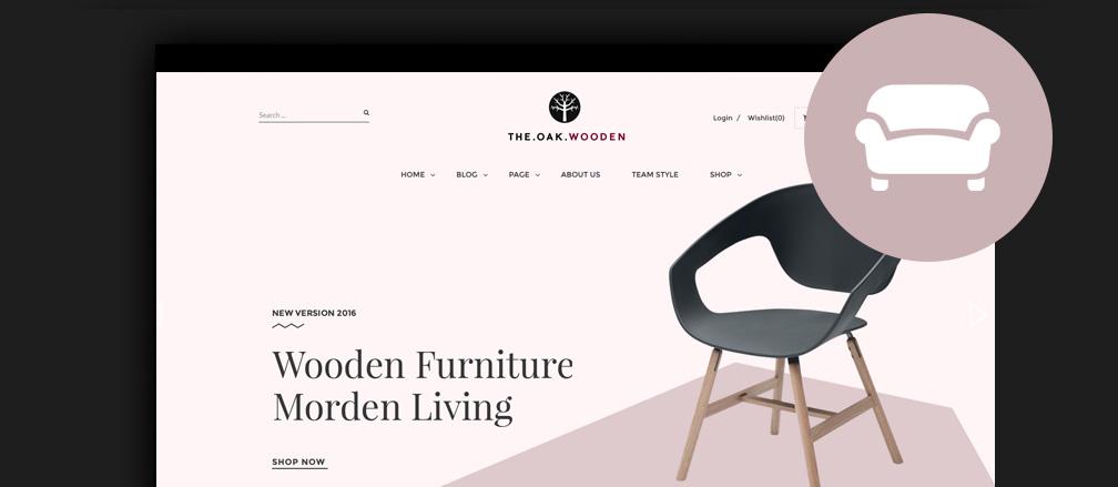 40+ Best Furniture WordPress Themes 2017 For Designers, Manufacturers U0026  Shops