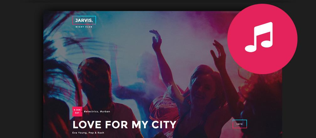 30+ Best Nightclub WordPress Themes 2017