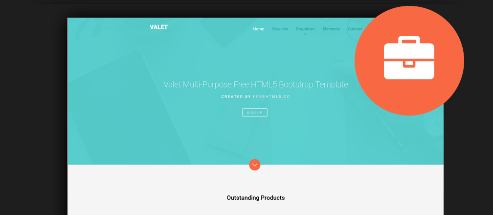 Free Html5 Business Website Templates