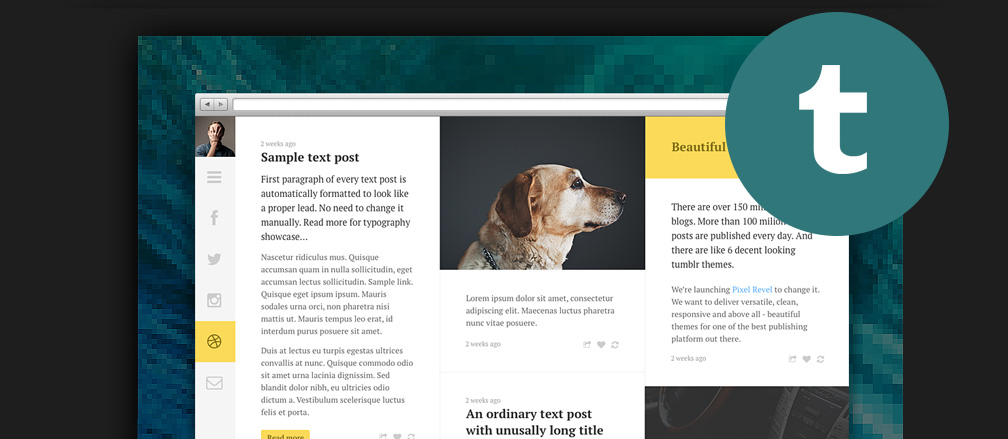 50+ Best Tumblr Themes 2017 for Personal Blogs, Portfolios