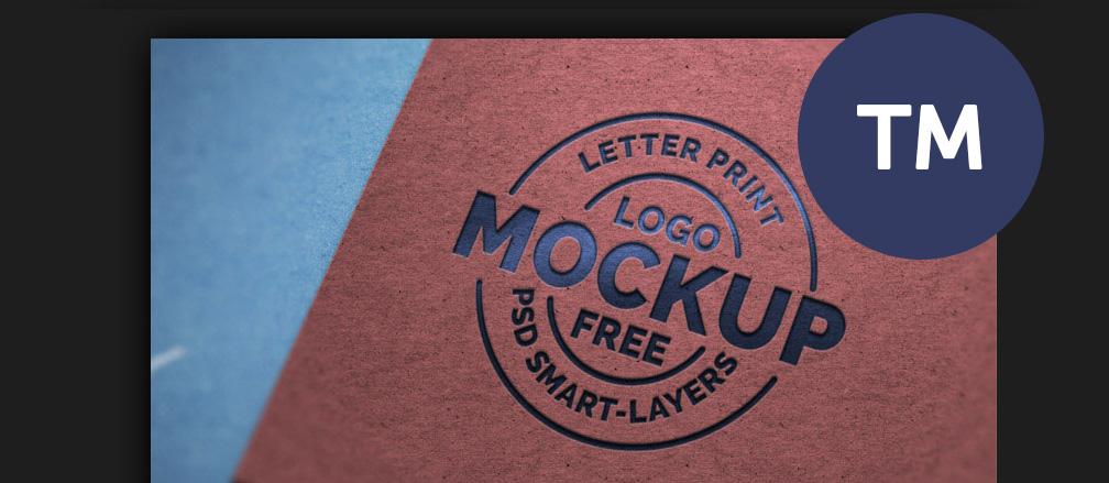 50+ Best Free Logo Mockup Templates 2017