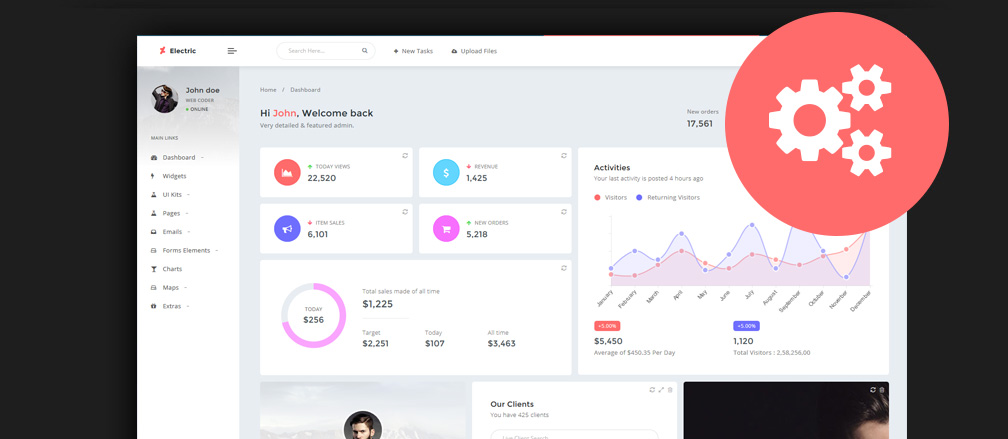 50 Best Angularjs Admin Templates To Download 2017