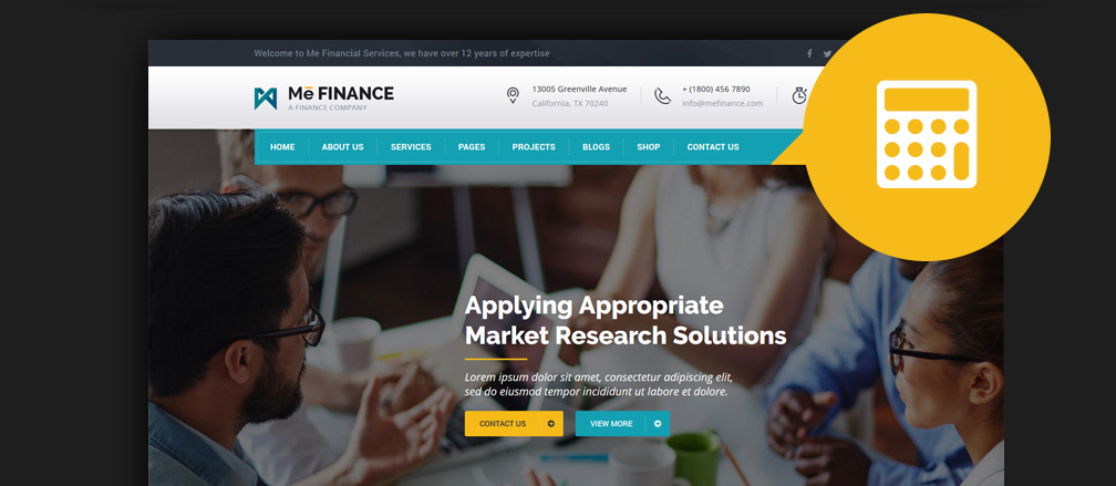 50 best html financial website templates 2017 html finance website templates maxwellsz