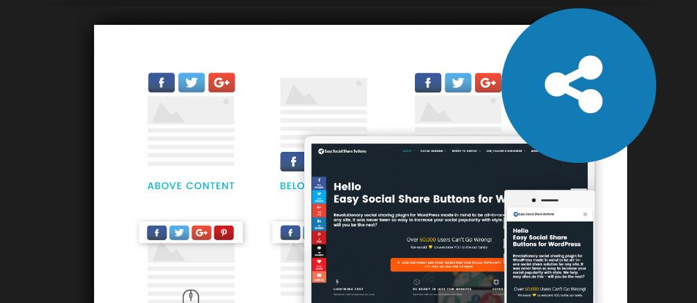 50+ Free & Paid WordPress Social Sharing Plugins 2017