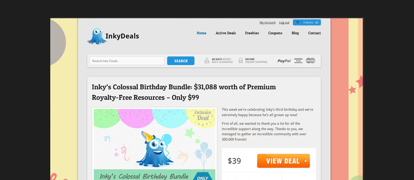 Inky Deals Coupon Code