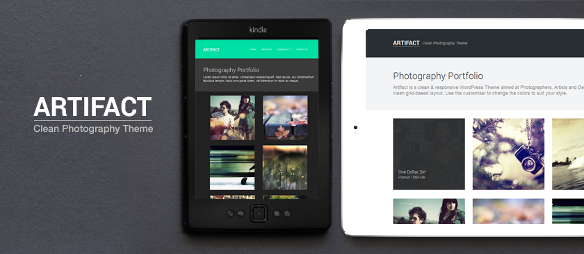 Artifact - Clean Photography Theme