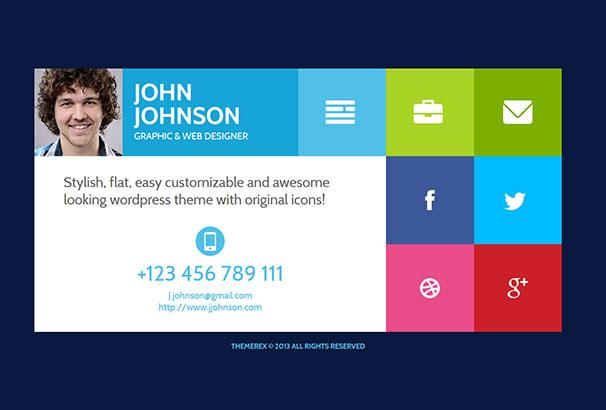 40+ Best CV & Resume WordPress Themes 2017