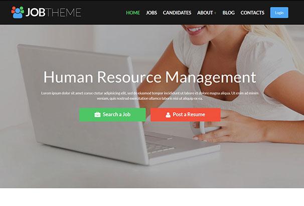 Job Portal HTML5 Themes