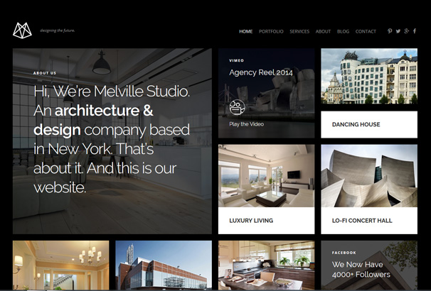 50 Best Interior Design WordPress Themes 2017