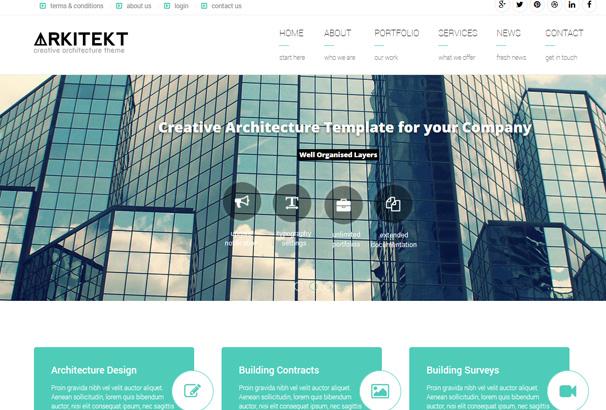 Best Architect Wordpress Themes