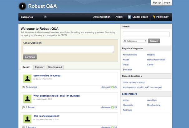 Robust Q&A