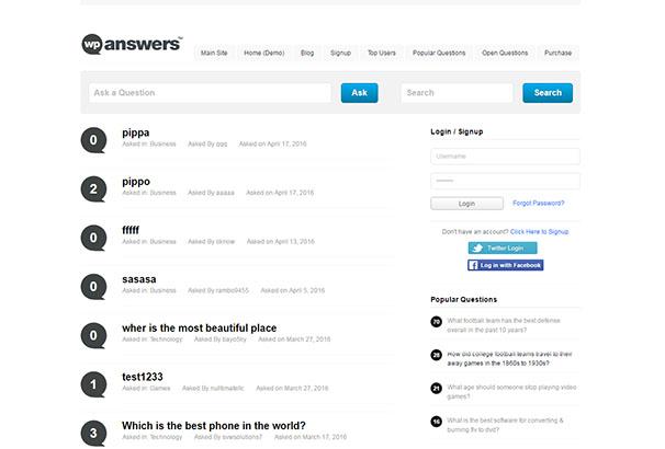 WP-Answers