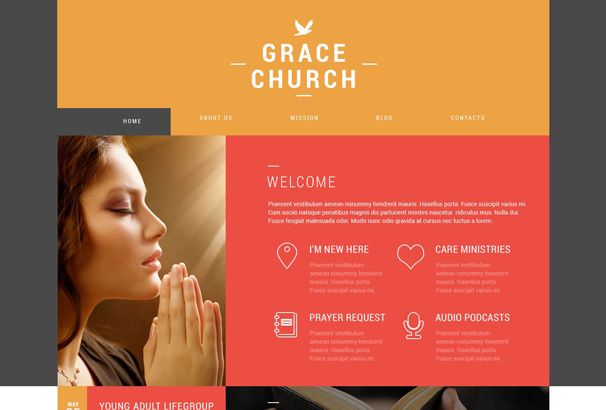 60+ Best Wordpress Church Themes 2017