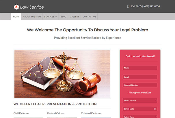 Ink Themes 2 Law Service