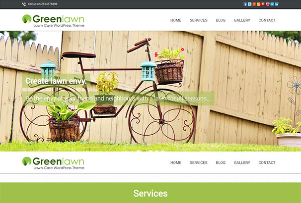 Ink Themes 4 Green Lawn