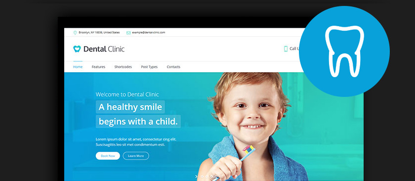 Dentist Website Template Wordpress - Wordpress Themes Gala, The ...