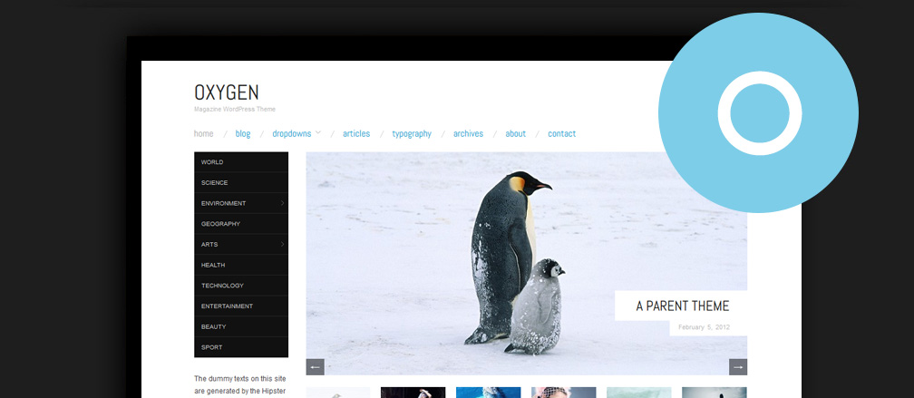 50+ Best Free Minimalist WordPress Themes 2017