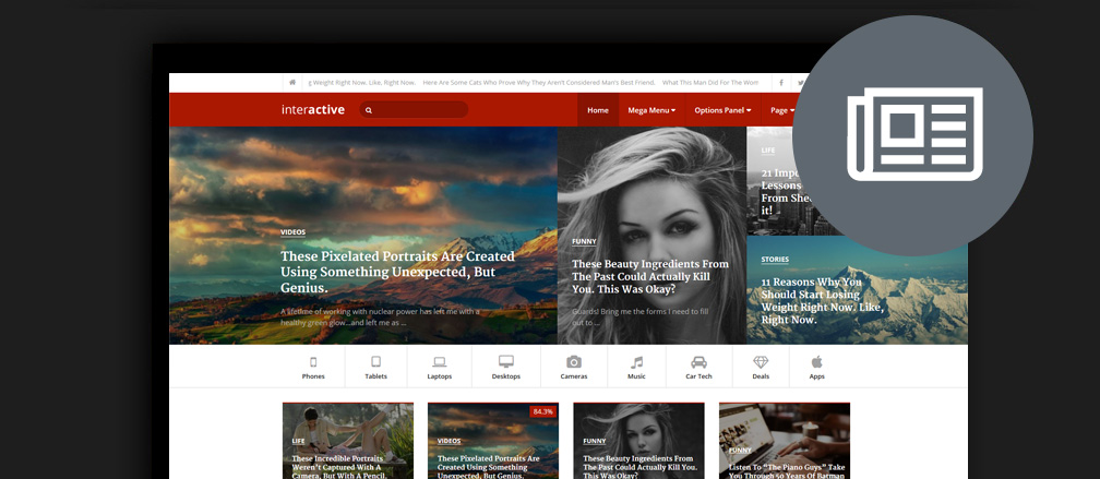 WordPress Newspaper Themes