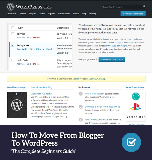 How To Move From Blogger To WordPress: Complete Beginners Guide