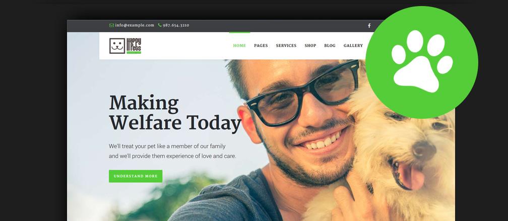 Best Animal WordPress Themes