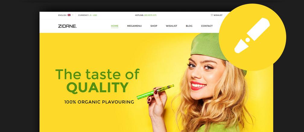 eCig & Vaping eCommerce Themes & Templates