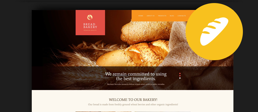 Cake Shop WordPress Theme