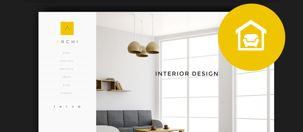 50 best interior design wordpress themes 2017 for Interior design theme ideas