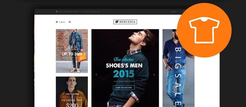 40 best t shirt store wordpress themes 2017