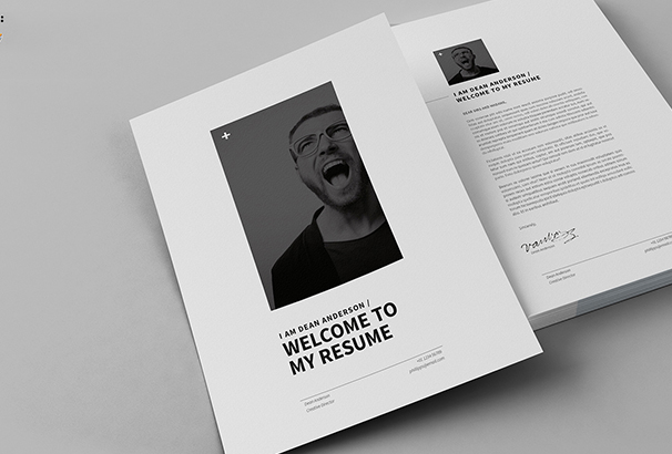 12-pages-minimal-resume-cv