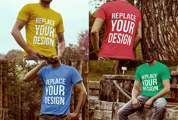 4-free-t-shirt-mockup-templates-with-model