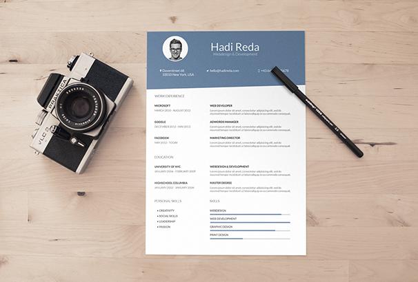 a4-curriculum-vitae-resume-template