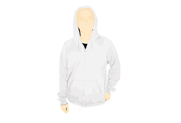hoodie-vector-template