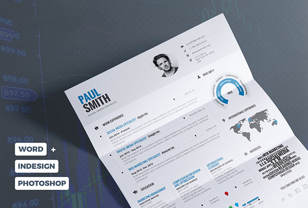 infographic-resume-cv-vol-1