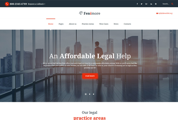law-firm-responsive-website-template