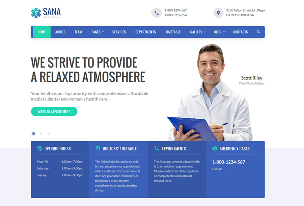 medical-responsive-website-template