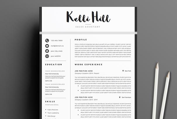 resume-template-4page-jolie